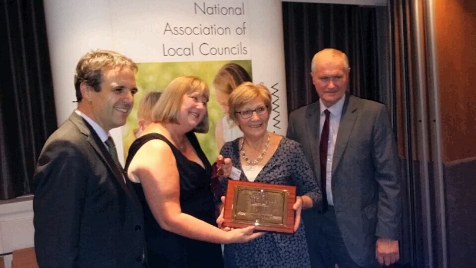 Councillor of the year award for Cllr Ogden