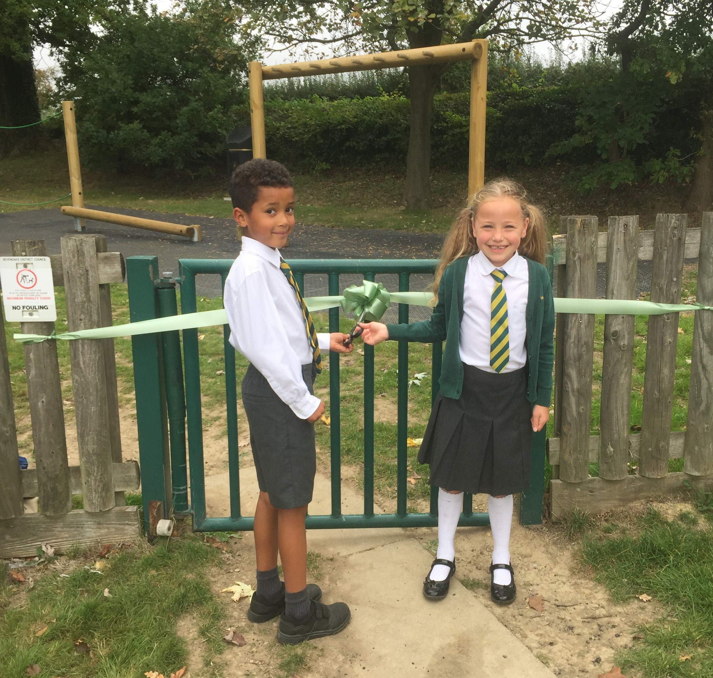 New playground at Crockham Hill